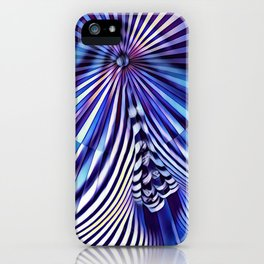 7694s-KMA Abstract Blue Nude Intimate Sexy Hot iPhone Case