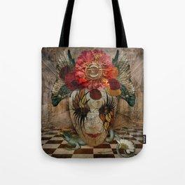 Venetian Mask in Fantasy World Tote Bag