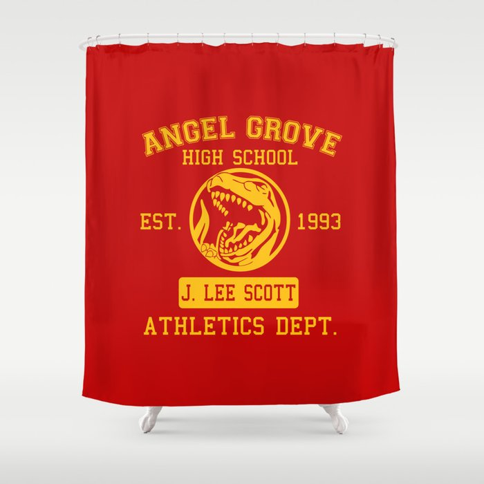 Angel Grove Shower Curtain