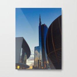 A New Milano Metal Print
