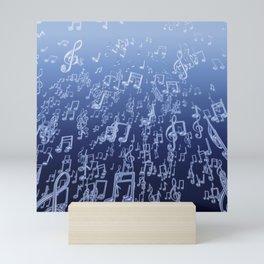 Aquatic Chords Mini Art Print