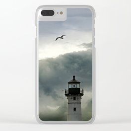 beauty in the darkness Clear iPhone Case