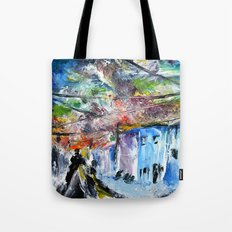 A Sky of Wires Tote Bag