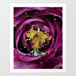 GOLDEN OPERA Art Print