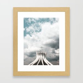 Cathedral | Brasília | Brazil Framed Art Print