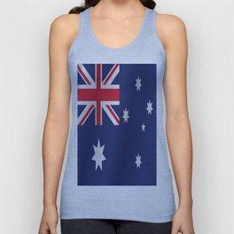 Flag of Australia Unisex Tank Top