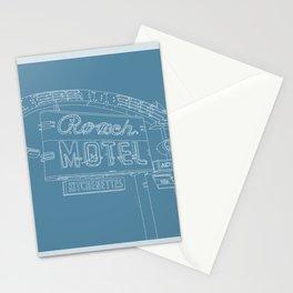 San Antonio Motel Series - Vintage Niagara Blue Stationery Cards