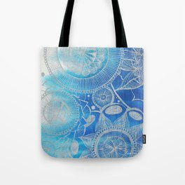Mandala Hand drawn illustration art Tote Bag