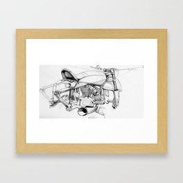 Italian Cruiser Framed Art Print