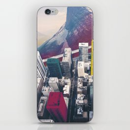 if Chicago were in mountains iPhone Skin