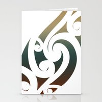 maori Stationery Cards featuring Maori Style by Lonica Photography & Poly Designs