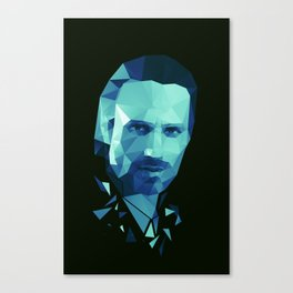 Rick Grimes - The Walking Dead Canvas Print
