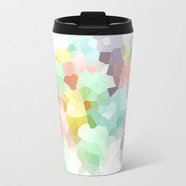 Pastel Abstract Travel Mug