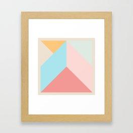Ultra Geometric IV Framed Art Print