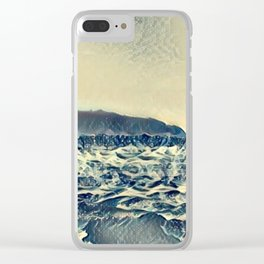 Vintage Lake Clear iPhone Case