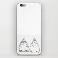 Two Speckled Hens iPhone & iPod Skin