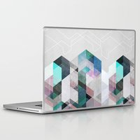 nordic Laptop & iPad Skins featuring Nordic Combination 23 by Mareike Böhmer