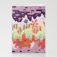 crystal Stationery Cards featuring Crystal Forest by LordofMasks