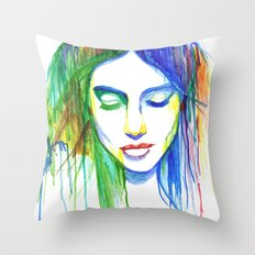 Sadness is a Blessing Throw Pillow