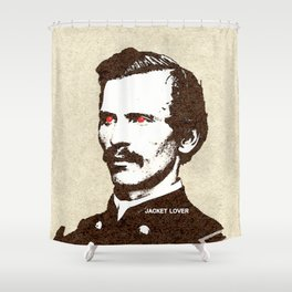 - jacket lover - Shower Curtain
