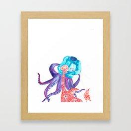 Sea-ing is believing Framed Art Print