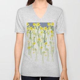 Daffodils Unisex V-Neck