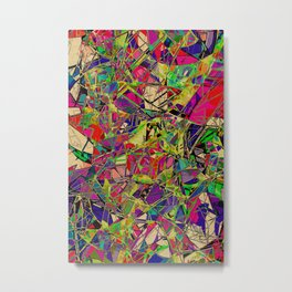 Fields of Technicolour Dreams Metal Print