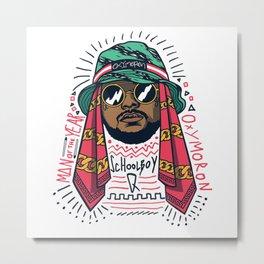 ScHoolboy Q x Black Hippy Metal Print