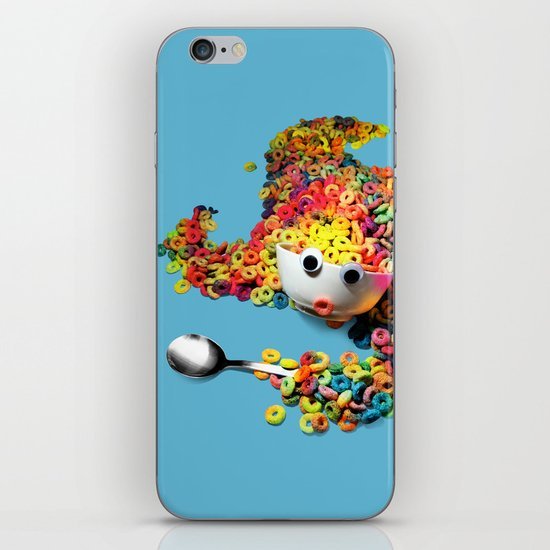 Clumsy Mornings iPhone & iPod Skin