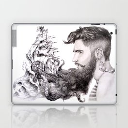 Sailor's Beard Laptop & iPad Skin