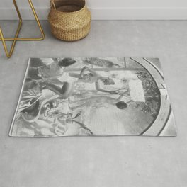 Carl Larsson - Rococo - Renaissance - Contemporary art Rug