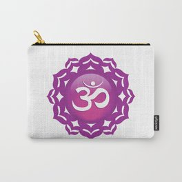 Crown Chakra Symbol Carry-All Pouch