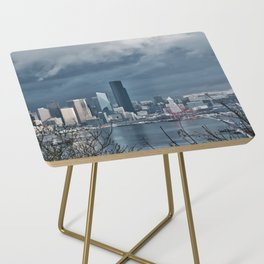 Seattle's shades of gray Side Table