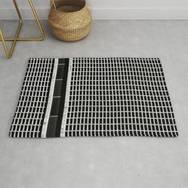 Count The Rectangles Rug