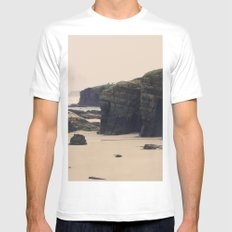 Las Catedrales MEDIUM Mens Fitted Tee White