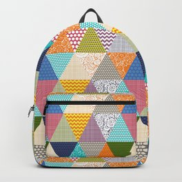 seaview beauty triangles Backpack