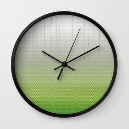 Sombra Skin Glitch Pattern Wall Clock