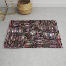 number 313 multicolored Rug