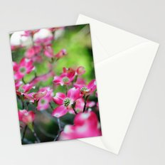 Pink Dogwood in the Spring Stationery Cards