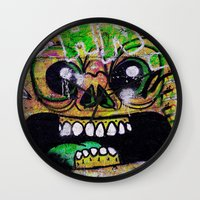 gnome Wall Clocks featuring GNOME by lucborell