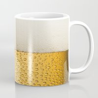 beer Mugs featuring Beer by Rorzzer
