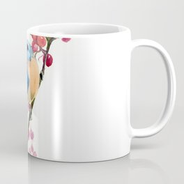 Bluebird and Berries Coffee Mug