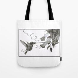 Swordbill Hummingbird Tote Bag