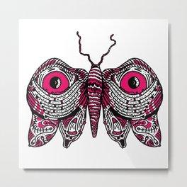 Fang Moth Metal Print