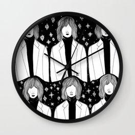 La fille sans visage Wall Clock