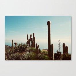 Le Jardin Botanique Canvas Print