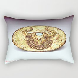 Third Eye Turquoise bull  Rectangular Pillow