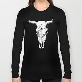 Longhorn skull Long Sleeve T-shirt