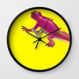 defying nature Wall Clock