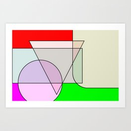 Colorandform mixery 3 Art Print